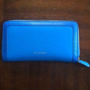 Vera Bradley Blue leather wallet